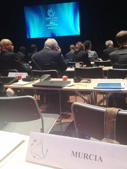 Murcia lidera el grupo intermediterráneo de transporte de la Conferencia de Regiones Periféricas Marítimas