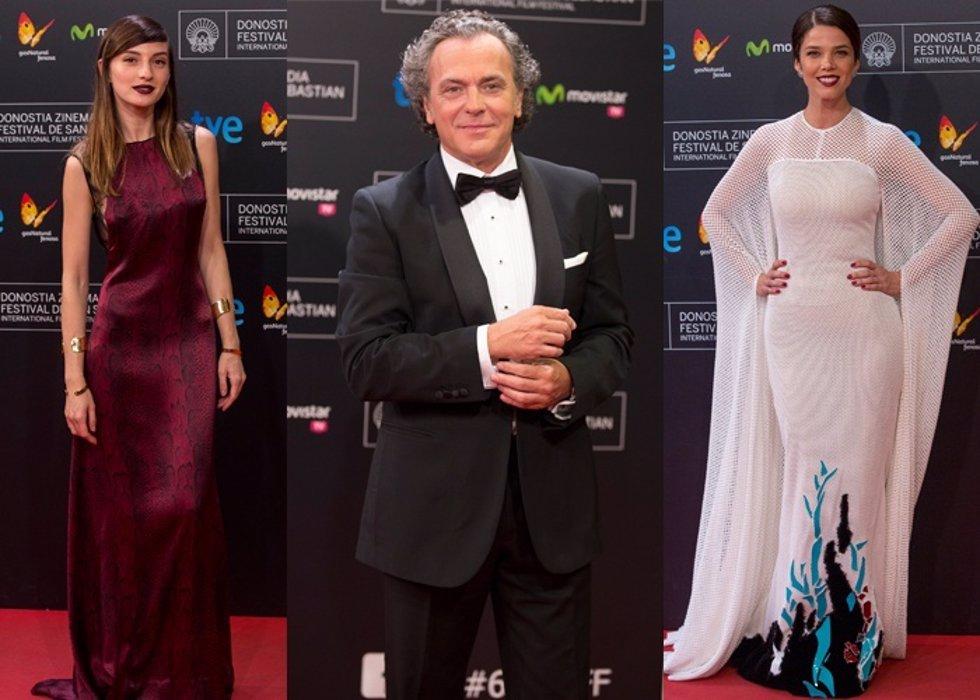 Los looks que desfilaron en la clausura de la 62 Festival de Cine de San Sebasti