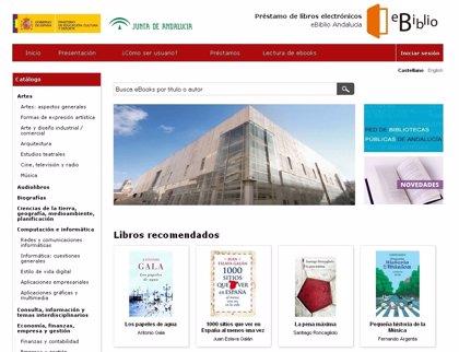 Málaga.- Cultura.- Sostenible.- Las 155 bibliotecas públicas malagueñas se abren a la lectura digital