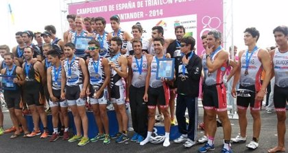 El CT Diablillos de Rivas y el Arcade Inforhouse, campeones de España de Triatlón por Clubes