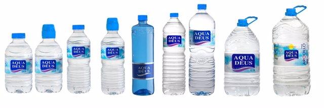 El agua mineral Aquadeus, entre las cuatro mejores de España según la OCU