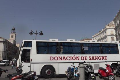 Se precisan en la Comunidad de Madrid donaciones urgentes de sangre A- y A+