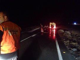 El 061 atendió a 71 personas debido a 50 accidentes de tráfico el fin de semana en Galicia, de las que una falleció
