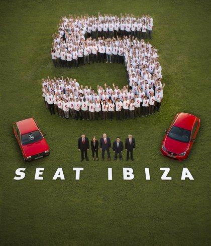 Seat alcanza un volumen de producción histórico de 5 millones de unidades del Ibiza en 30 años