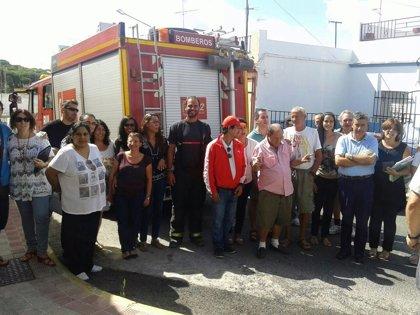 Bomberos de Alcalá de Guadaíra supervisan un simulacro de incendios en un centro de enfermos mentales