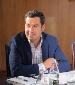 Presidente del PP-A, Juanma Moreno