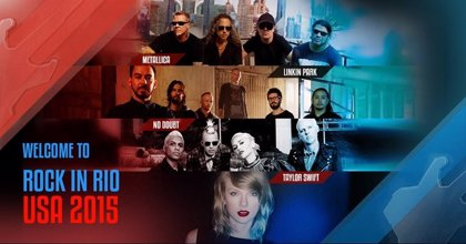 Metallica y Taylor Swift lideran el cartel de Rock in Rio USA