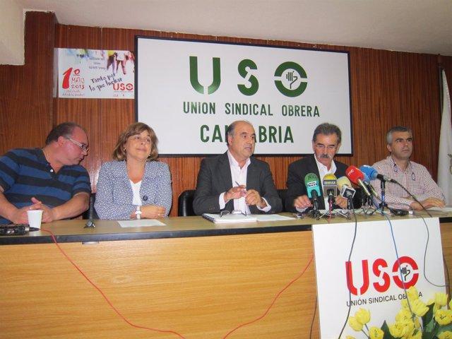 Representantes de USO