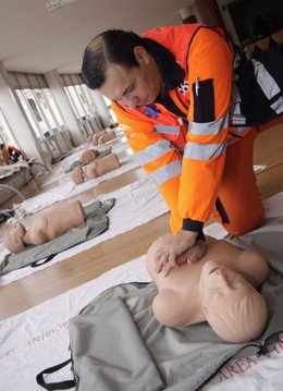 Curso de reanimación cardiaca para profesionales sanitarios