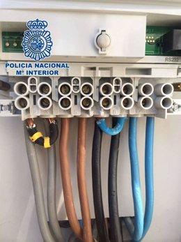 Policía Nacional fraude fluido eléctrico