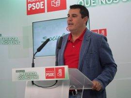 """El PSOE pide a López que se pronuncie y rompa """"su silencio"""" sobre si seguirá como alcaldesa o parlamentaria"""