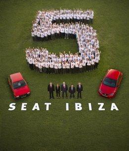 Unidad 5 millones del Seat Ibiza