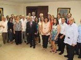Gómez visita la casa balear de la República Dominicana