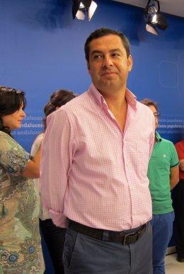 Juanma Moreno, presidente del PP-A.
