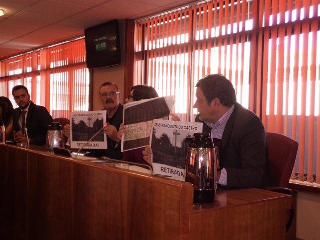 Pleno municipal de Vigo