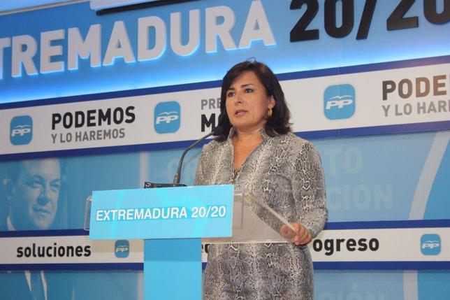 Rueda de prensa, Francisca Rosa