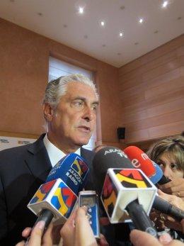 El consejero de Política Territorial e Interior, Antonio Suárez.