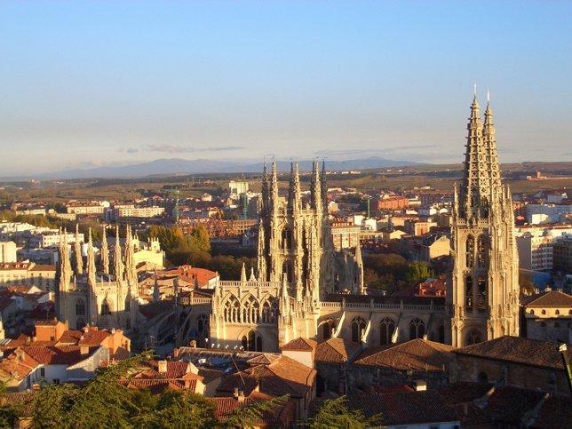 Vista De La Catedral Desde El Castillo