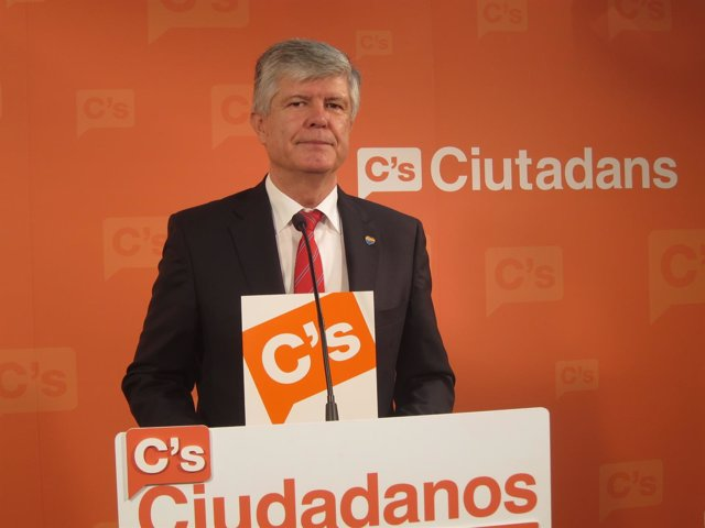 El secretario general de C's, Matías Alonso