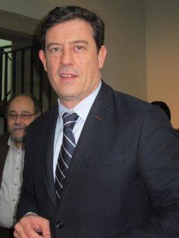 El secretario xeral del PSdeG, José Ramón Gómez Besteiro