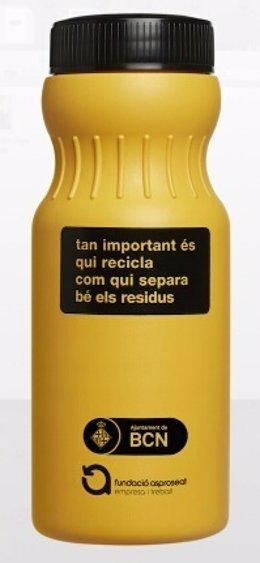 Nuevo envase para recoger aceite usado de cocina en Barcelona