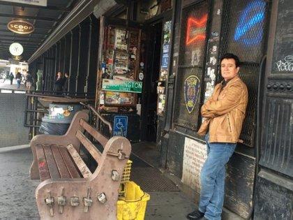 Manolo García graba nuevo videoclip en Nueva York