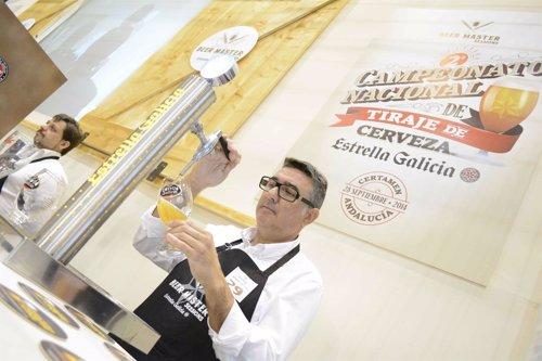 Javier Sánchez de la cervecería Gorila de Jerez