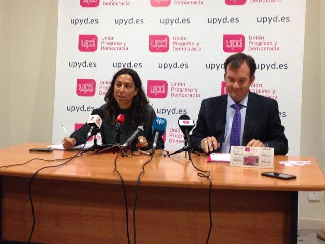 El coordinador territorial y portavoz de UPyD-A, Martín de la Herrán