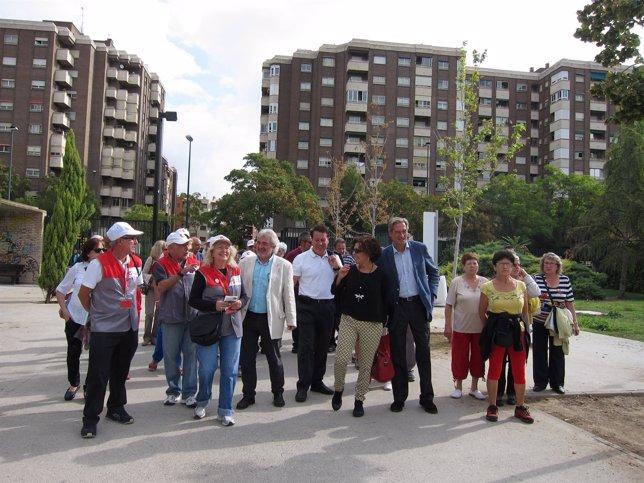 Este lunes se ha presentado el nuevo recorrido en el Parque de Delicias