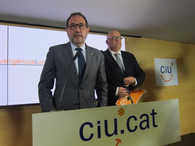 Ramon Espadaler (UDC) Lluís Corominas (CDC)