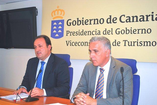 Ricardo Fernández de la Puente Armas y Pedro Calero