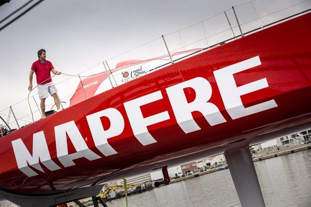 Mapfre, barco español en la VOR