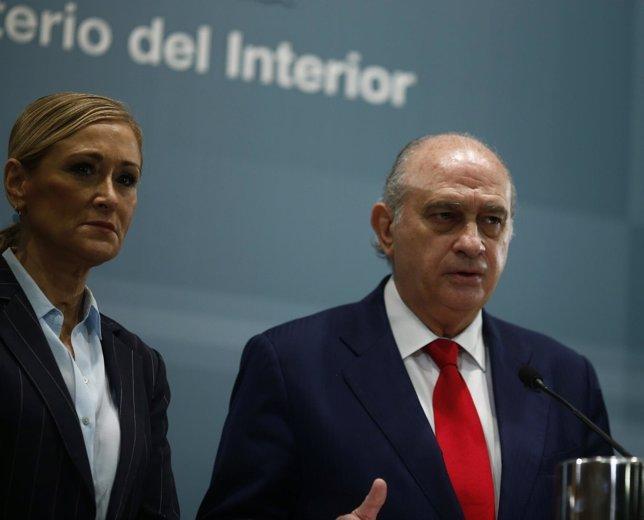 Jorge Fernández Díaz y Cristina Cifuentes