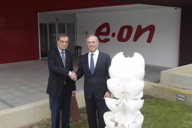 El presidente de E.ON en España y el presidente del Ateneo