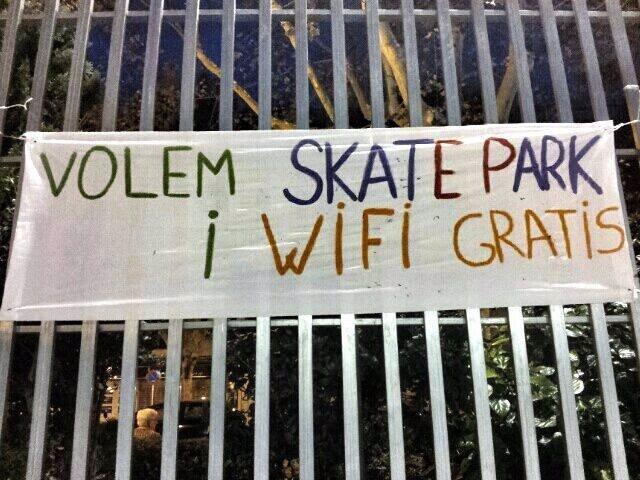 Petición de pista de skate