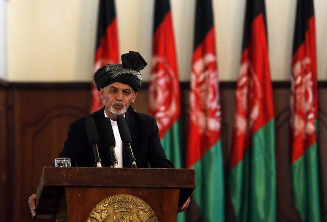 Discurso del nuevo presidente de Afganistán, Ganhi