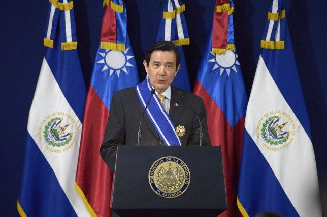 Ma Ying-jeou presidente de TAiwan
