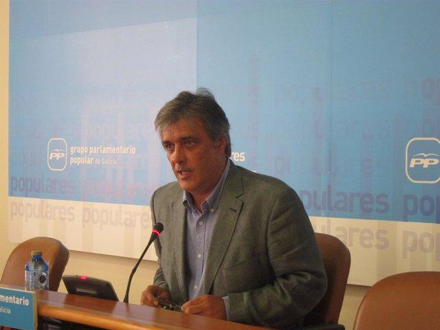 Pedro Puy, portavoz del Grupo Parlamentario del PPdeG