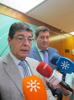 Diego Valderas, hoy junto a José María Algora