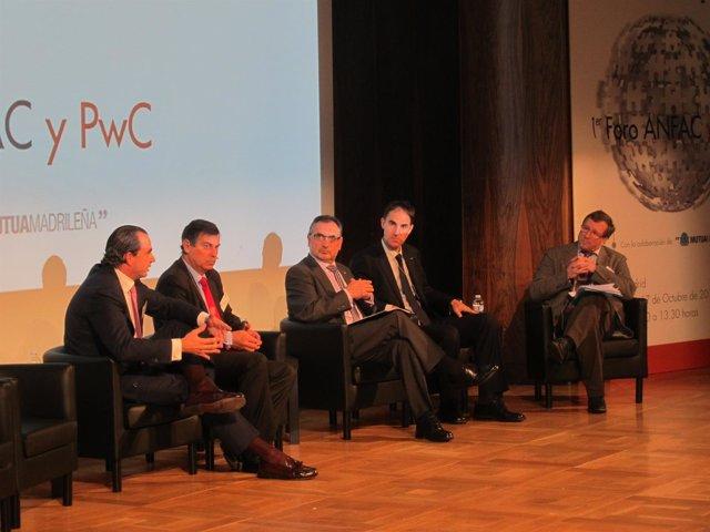 Director general de General Motors España, Antonio Cobo, en el foro Anfac y PwC