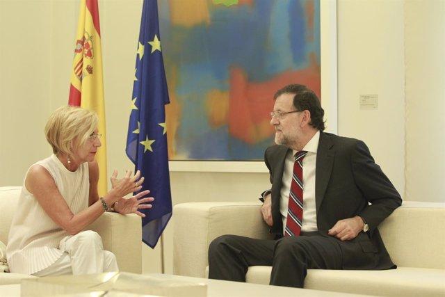 Mariano Rajoy recibe a Rosa Díez