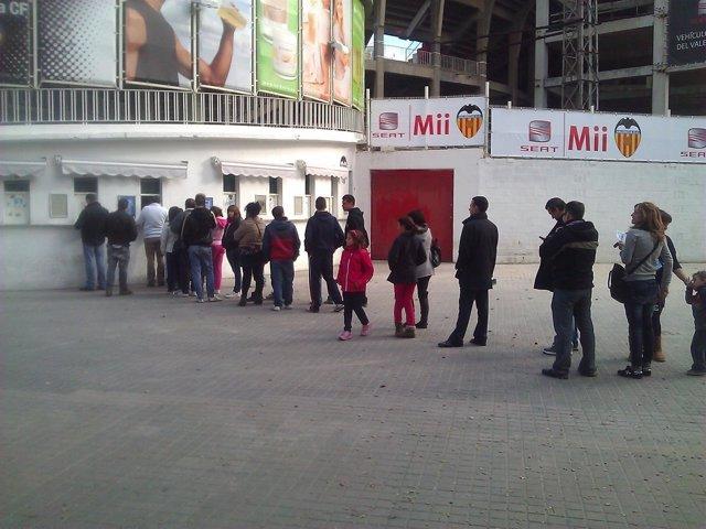 Venta De Entradas En Mestalla