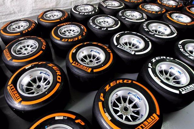 Neumáticos Pirelli de Fórmula 1