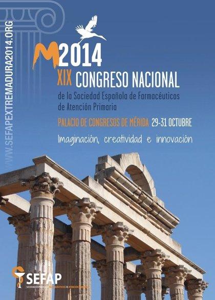 Mérida se convertirá del 29 al 31 de octubre en la capital de la farmacia de Atención Primaria en España