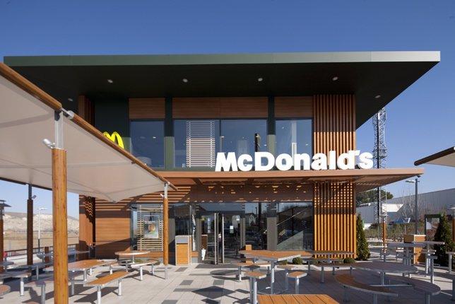 Establecimiento de McDonald's en España