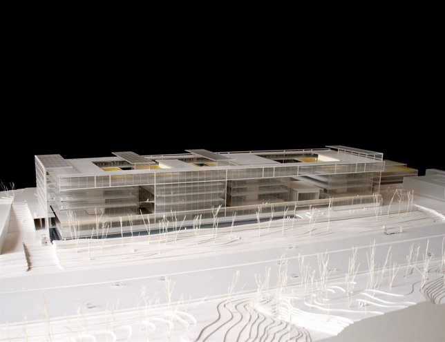 Proyecto de la nueva sede del Banco Popular en Madrid