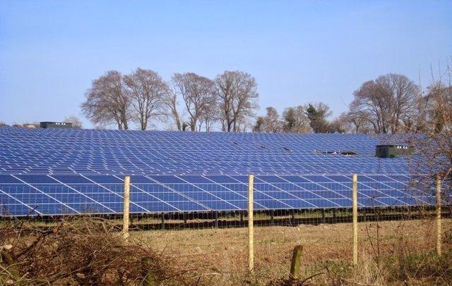 Planta fotovoltaica de OPDE