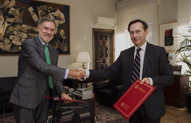 Gonzalo Robles y Manuel Méndez del Río