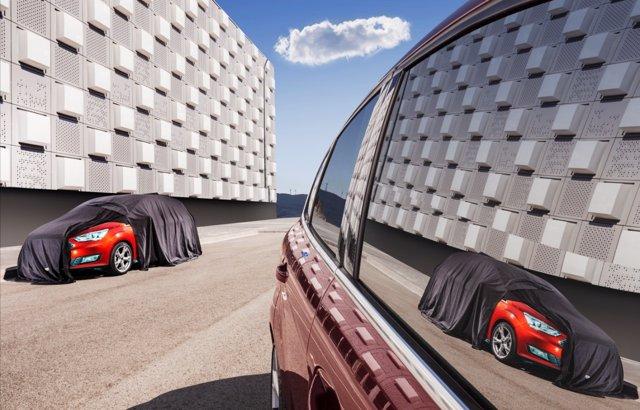 Presentación de nuevos modelos de Ford en el Salón de París