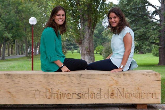 Ana Escauriaza Escudero y María Sonsoles Callejo Goena.